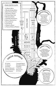 Las Hijas del Capitán - María Dueñas -Mapa de los principales escenarios del libro